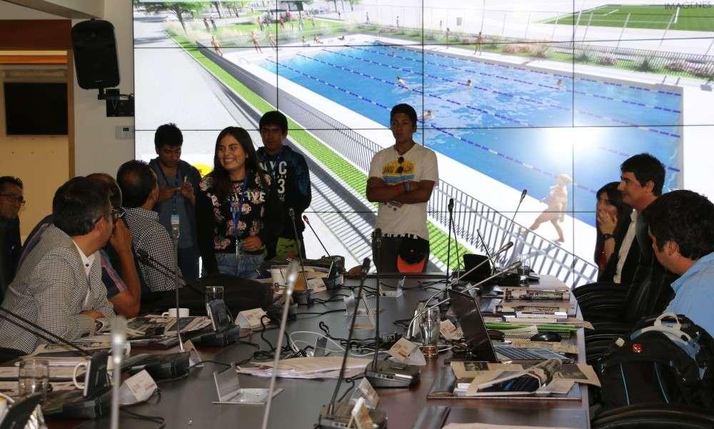 Comisi n del consejo regional aprob proyecto de piscina for Proyecto de piscina