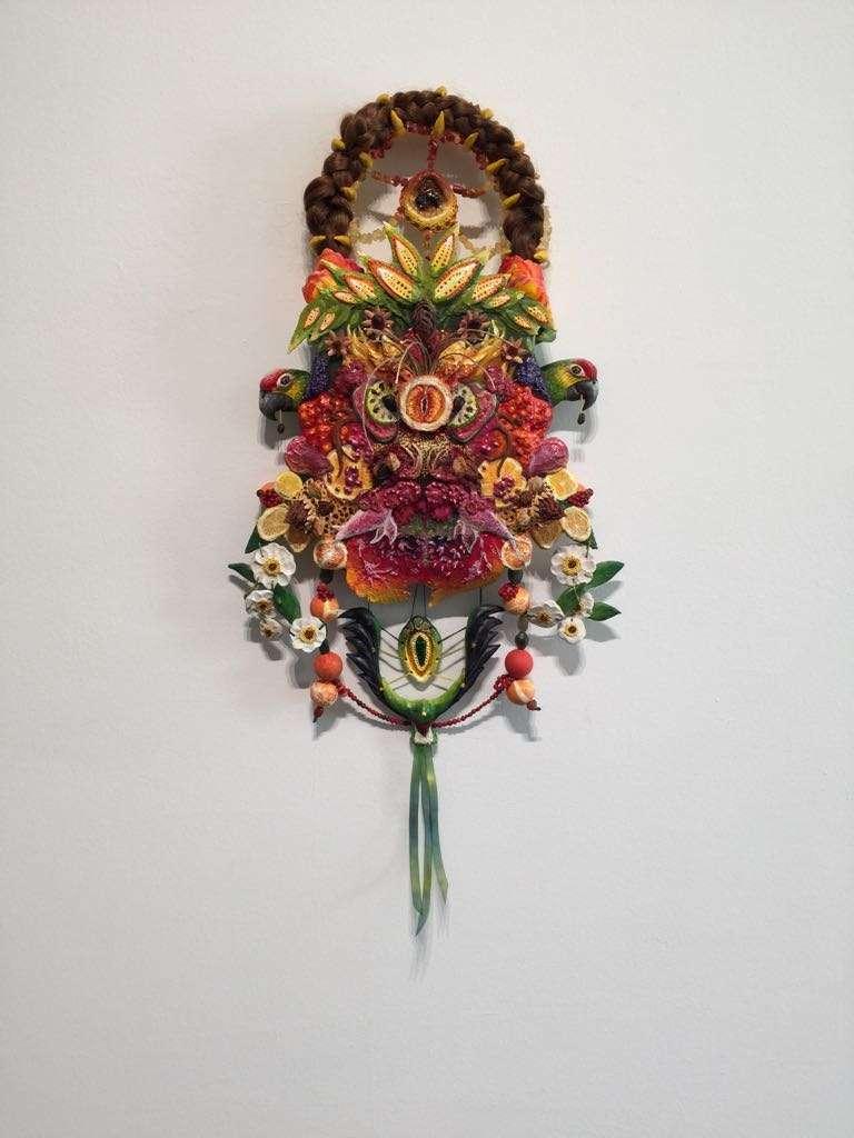 Escultura de la exposición.