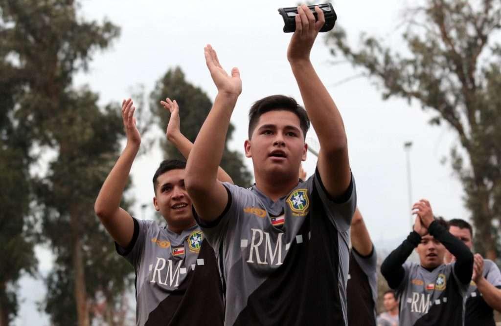 Comenz el 57 campeonato de f tbol de los barrios de for Papel pintado de los 70