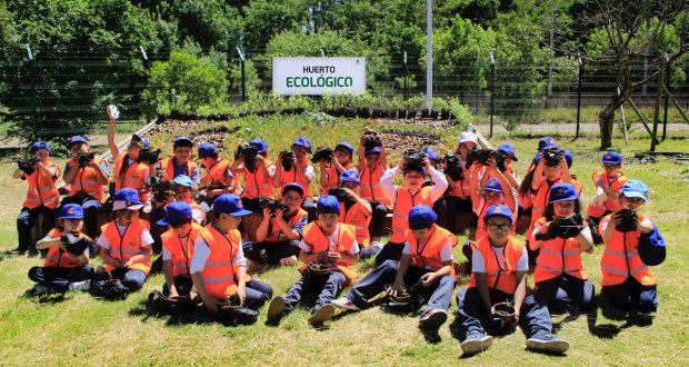 Invitados por el teniente alumnos de la regi n visitaron for Viveros en rancagua