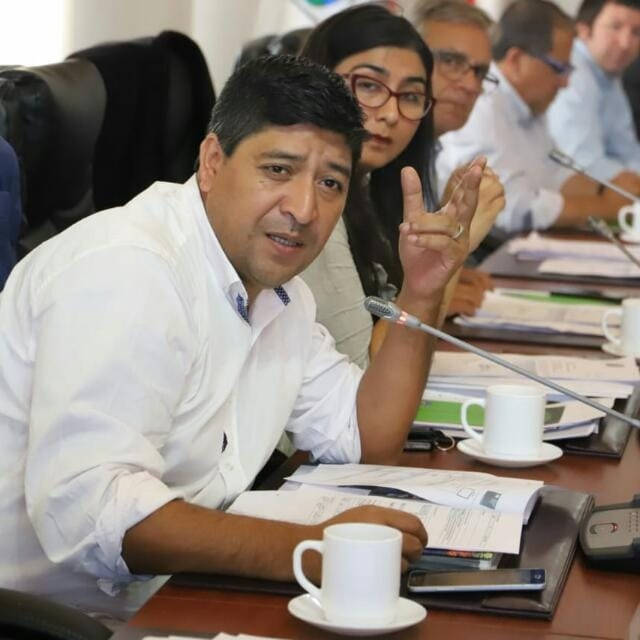 Mauricio Valderrama: El presidente de la comisión de cultura Mauricio Valderrama, manifestó que el Consejo busca encontrar una solución para apoyar de forma más directa a los artistas de la región de O´Higgins