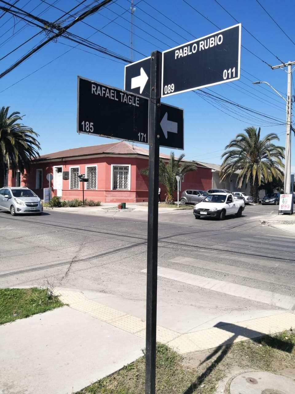 En una de estas calles el agresor violentó a su víctima